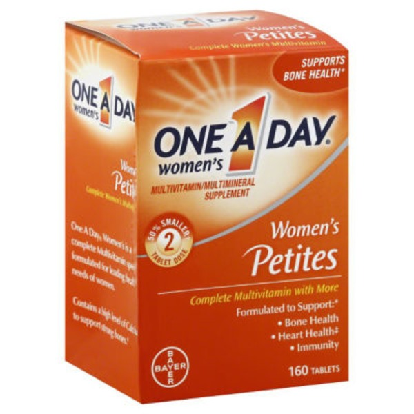 One A Day Women's Petites Tablets Multivitamin/Multimineral Supplement