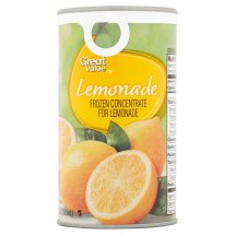Great Value Frozen Concentrate for Lemonade, 12 fl oz