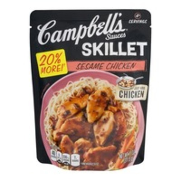 Campbell's Dinner Sauces Sesame Chicken Skillet Sauces