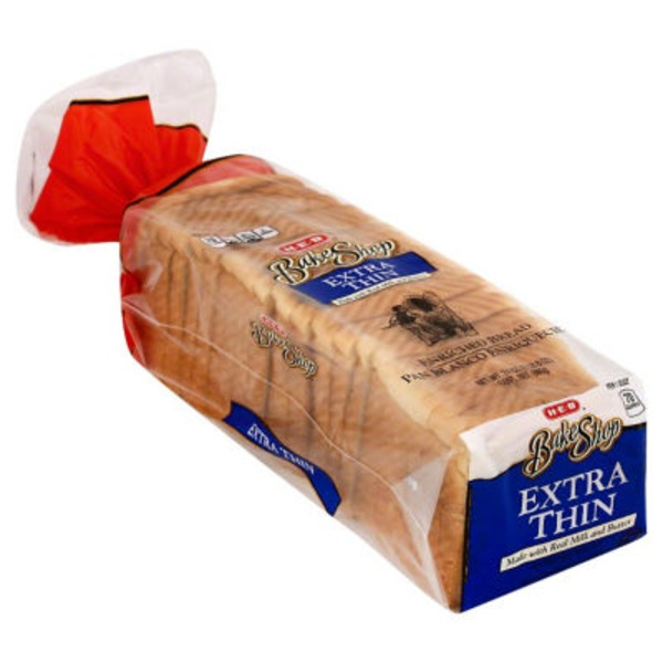 H-E-B Extra Thin White Enriched Bread