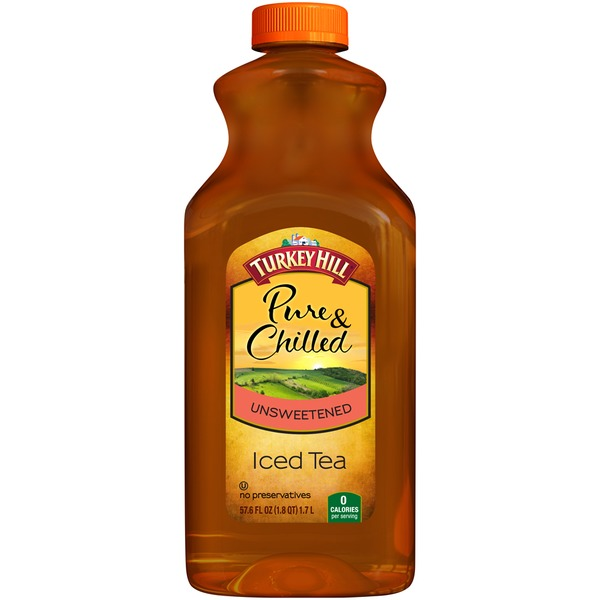 Turkey Hill Pure & Chilled Unsweetened Iced Tea