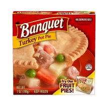 Banquet Turkey Pot Pie, 7 Ounce
