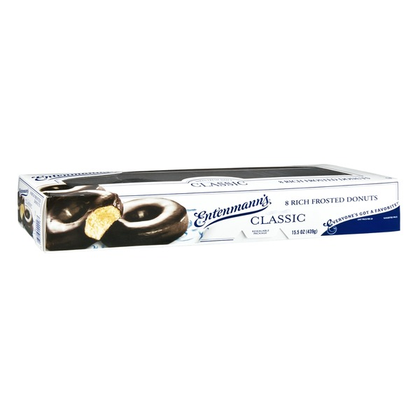 Entenmann's Classic Rich Frosted Donuts - 8 CT