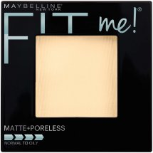 Maybelline New York Fit Me! Matte + Poreless Foundation Powder, Translucent