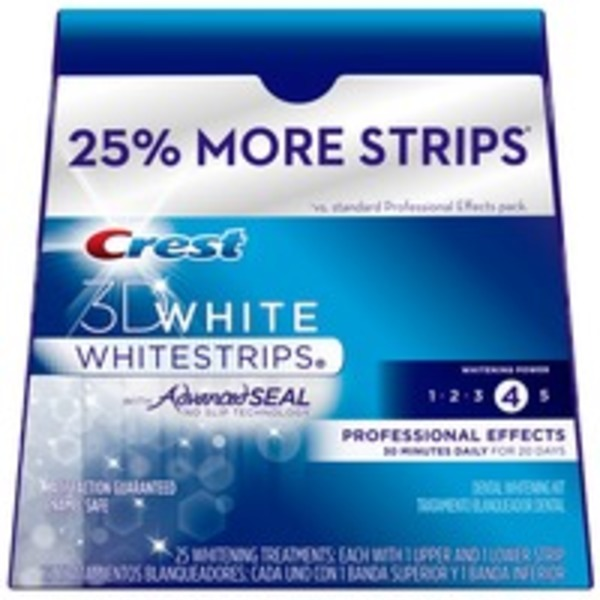 Crest 3D White No Slip Whitestrips Dental Whitening Kit