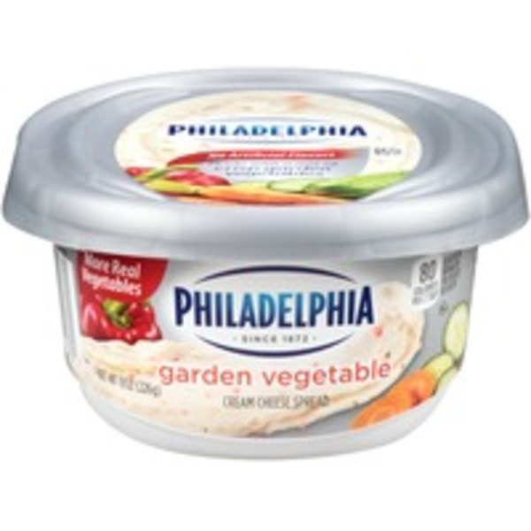 Kraft Philadelphia Cream Cheese Spread, Garden Vegetable