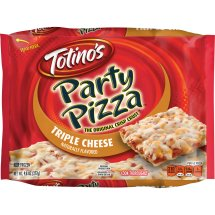Totino's Triple Cheese Party Pizza, 9.8 oz, 9.8 OZ