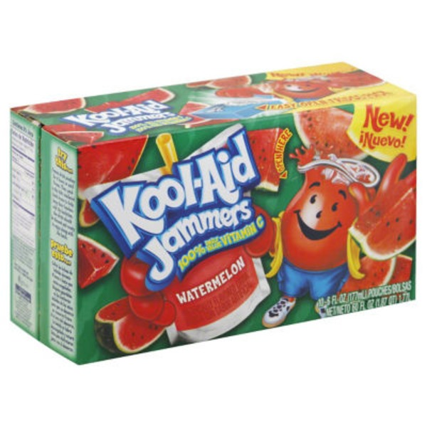Kool-Aid Jammers Watermelon Juice Drink
