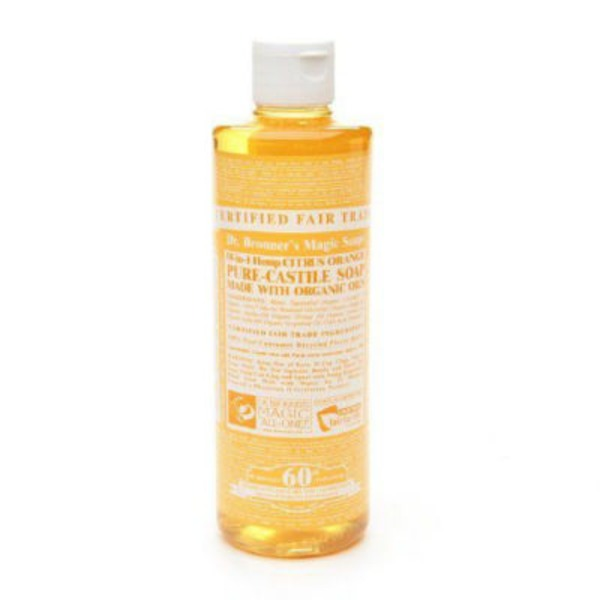 Dr. Bronner's Magic All-One Dr. Bronner's 18-In-1 Hemp Citrus Pure-Castile Soap