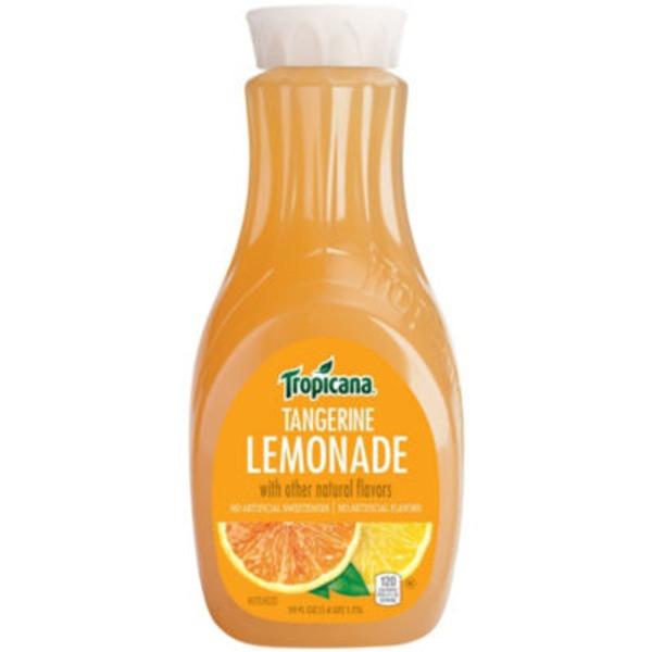 Tropicana Tangerine Lemonade Juice Beverage