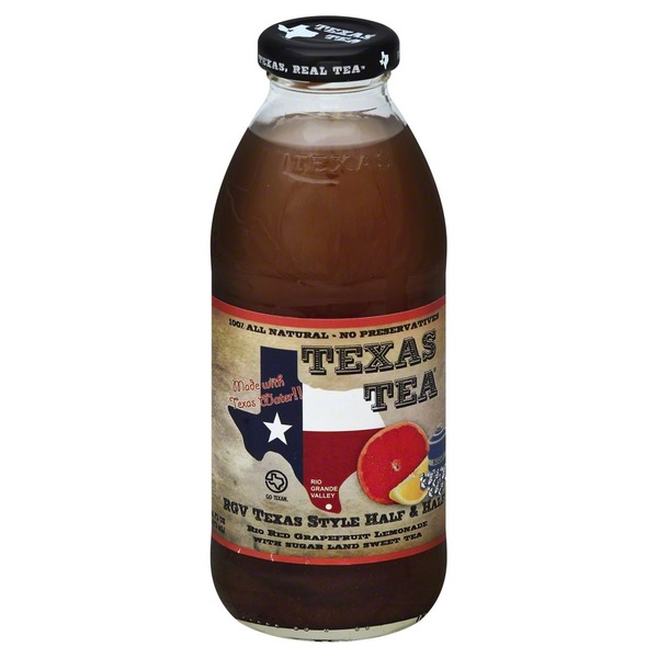 Texas Tea Half & Half, Texas Style, Bottle