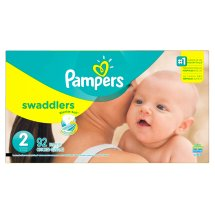 Pampers Swaddlers Diapers Size 2, 92 Count