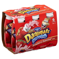 Dannon Danimals Smoothie Strawberry Explosion - 6