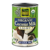 Native Forest Organic Unsweetened Coconut Milk Light