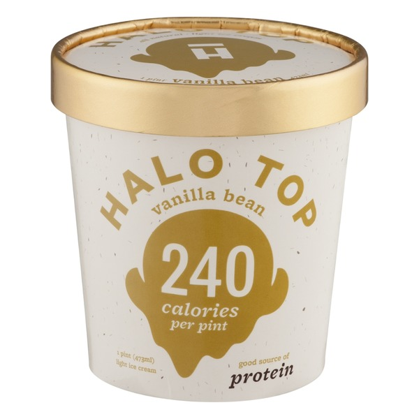 Halo Top Creamery Vanilla Bean