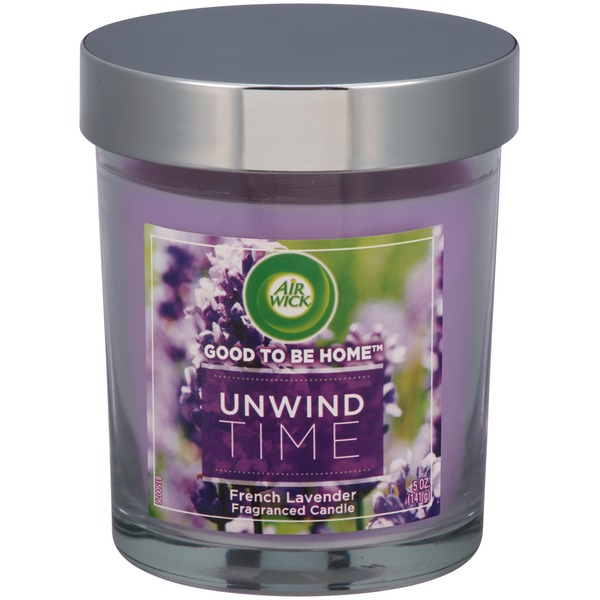 Air Wick Good To Be Home Unwind Time French Lavander Candle
