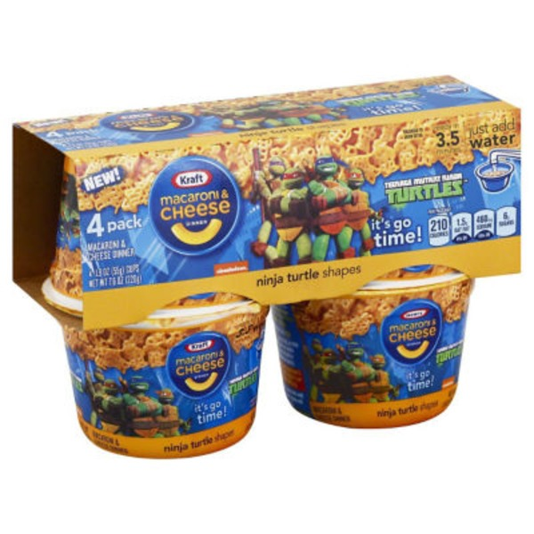 Kraft Dinners Trolls Shapes Macaroni & Cheese Dinner