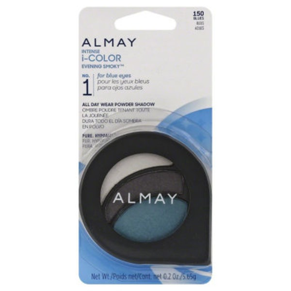 Almay Intense I-Color Evening Smoky No. 1 for Blue Eyes All Day Wear Powder Shadow