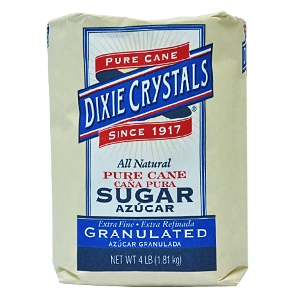 Dixie Crystals Granulated Extra Fine Pure Cane Sugar