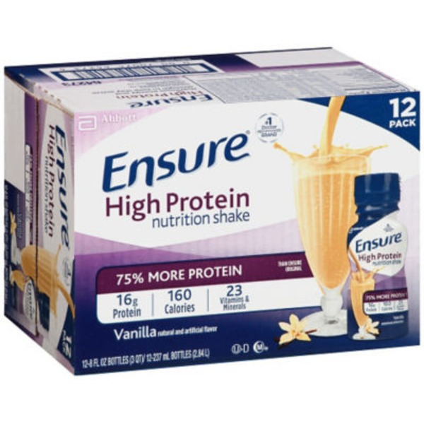 Ensure Plus High Protein Nutrition Shake, Vanilla