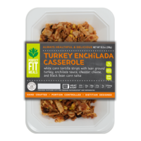 Perfect Fit Meals Turkey Enchilada Casserole