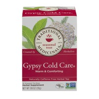 Traditional Medicinals Seasonal Teas Gypsy Cold Care Wrapped Tea Bags - 16 CT