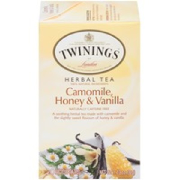 Twinings Camomile, Honey & Vanilla Naturally Caffeine Free Herbal Tea