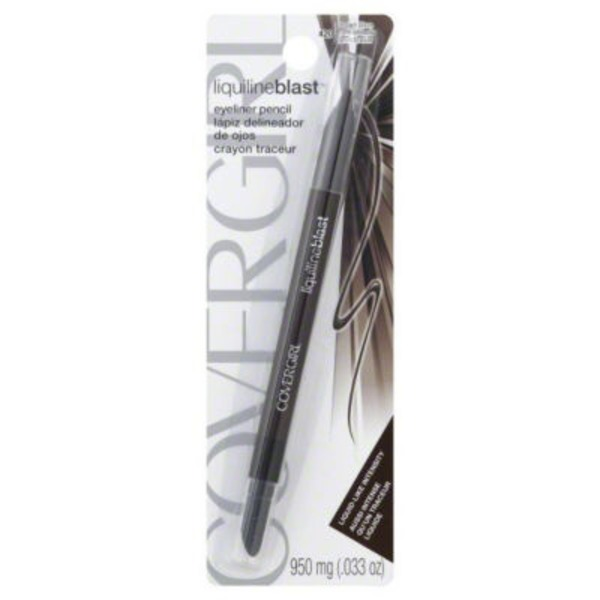 CoverGirl Liquiline Blast COVERGIRL LiquilineBlast Eyeliner Pencil, Brown Blaze .033 oz (950 mg) Female Cosmetics