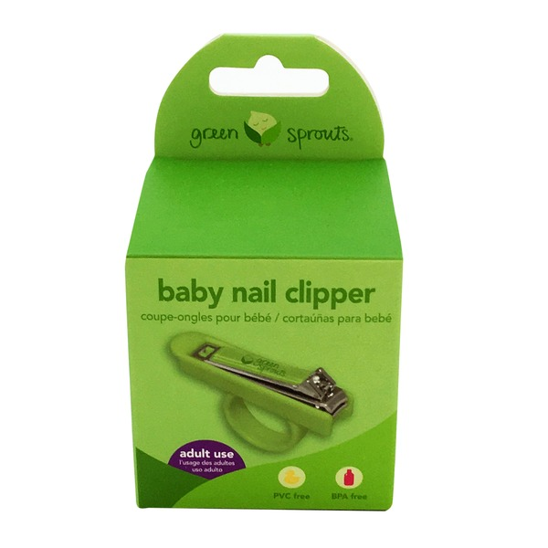 Green Sprouts by iPlay Baby Nail Clipper