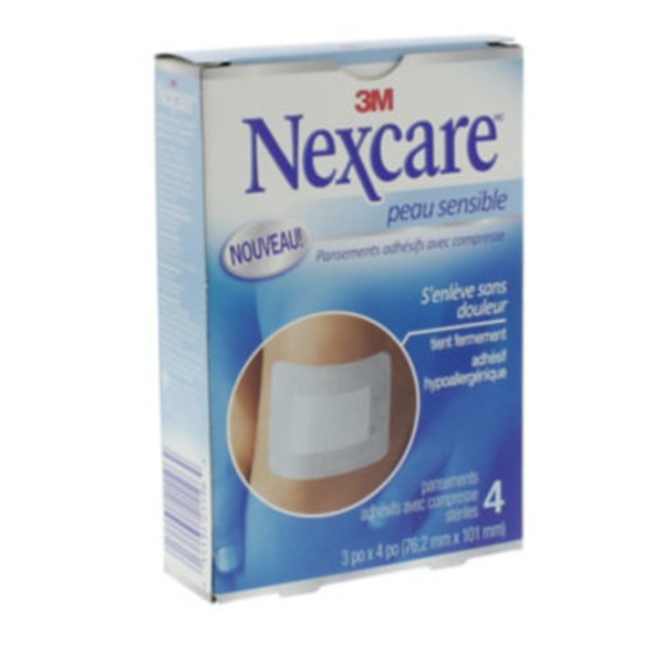 Nexcare Sensitive Skin Dressing 3