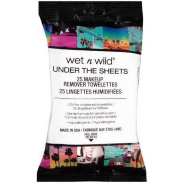 Wet n' Wild Under the Sheets Makeup Remover Wipes