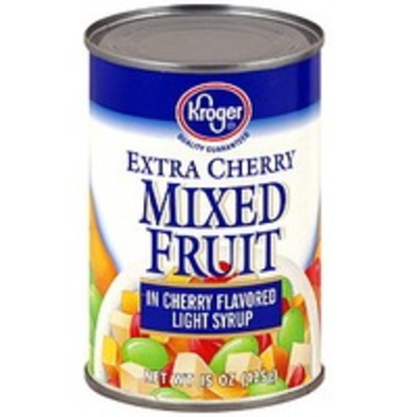 Kroger Mixed Fruit