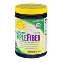 Renew Life Organic Triple Fiber Powder