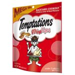 TEMPTATIONS MixUps Treats for Cats BACKYARD COOKOUT Flavor 6.3 Ounces