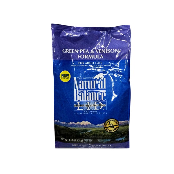 Natural Balance Cat 8# Green Pea & Venison