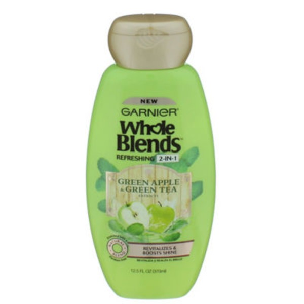 Whole Blends Refreshing 2-in-1 Green Apple + Green Tea Extracts Shampoo