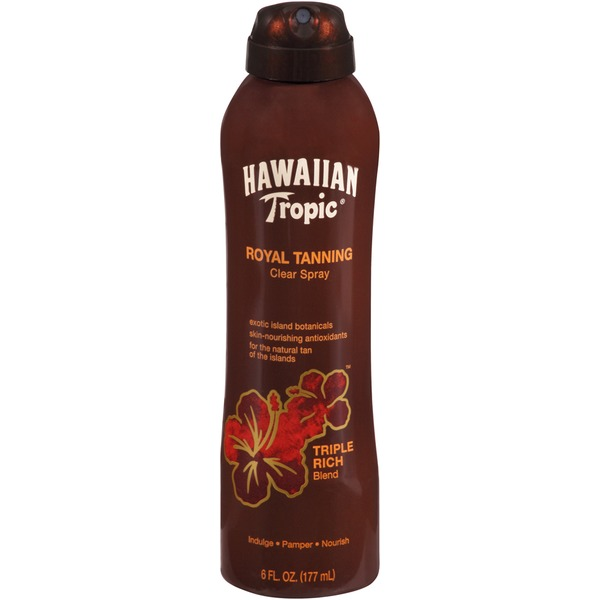 Hawaiian Tropic Royal Tanning Triple Rich Clear Spray Tanning Blend