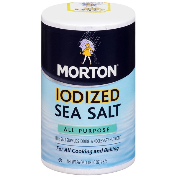 Morton Sea Salt Iodized All-Purpose Sea Salt