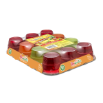 Raymundo's Tropical Family Pack Assorted Flavors Gelatin Dessert Snacks, 12 Individual 3.5 oz Cups