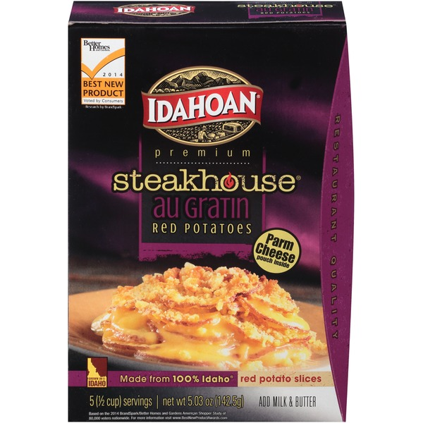 Idahoan Steakhouse Au Gratin Red Potatoes