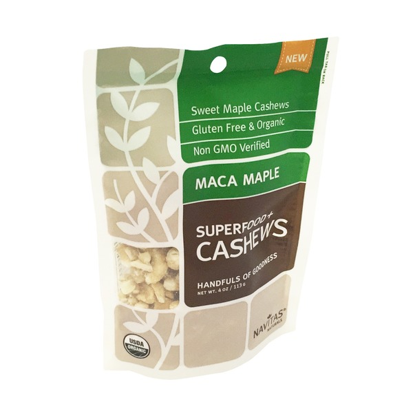 Navitas Naturals Superfood + Cashews, Maca Maple