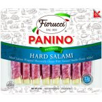 Fiorucci Panino Hard Salami Wrapped Mozzarella Cheese, 6 oz