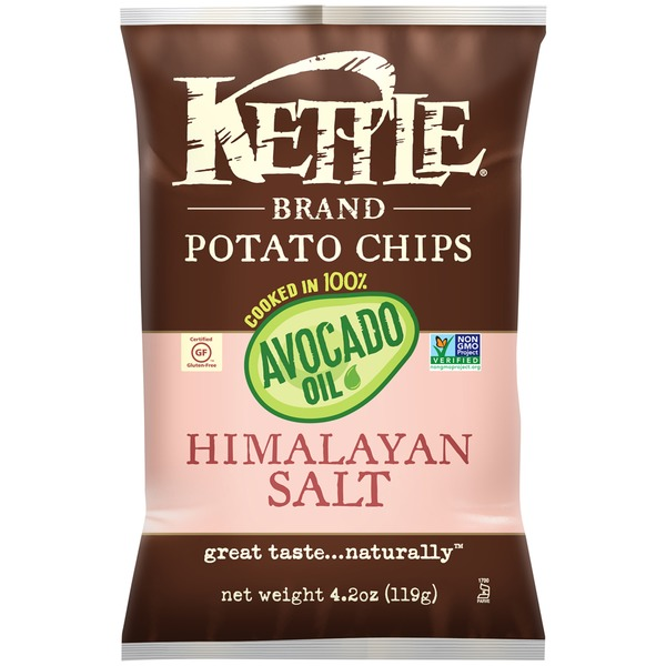 Kettle Brand® Avocado Oil Himalayan Salt Potato Chips