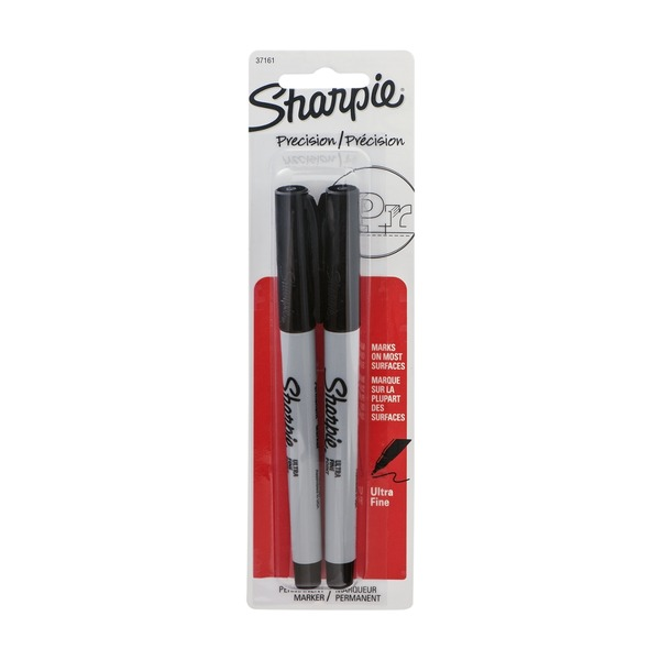 Sharpie Precision Ultra Fine Permanent Marker - 2 CT