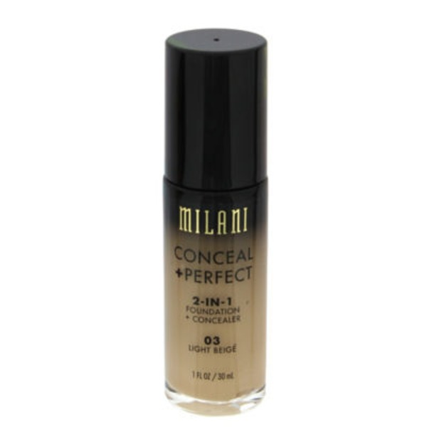 Milani Conceal & Perfect 2 In 1, Light Beige