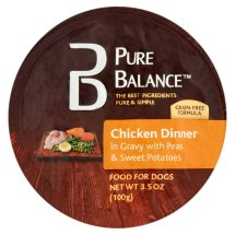 Pure Balance Canned Chicken Peas & Sweet Potatoes Dog Food, 3.5 Oz