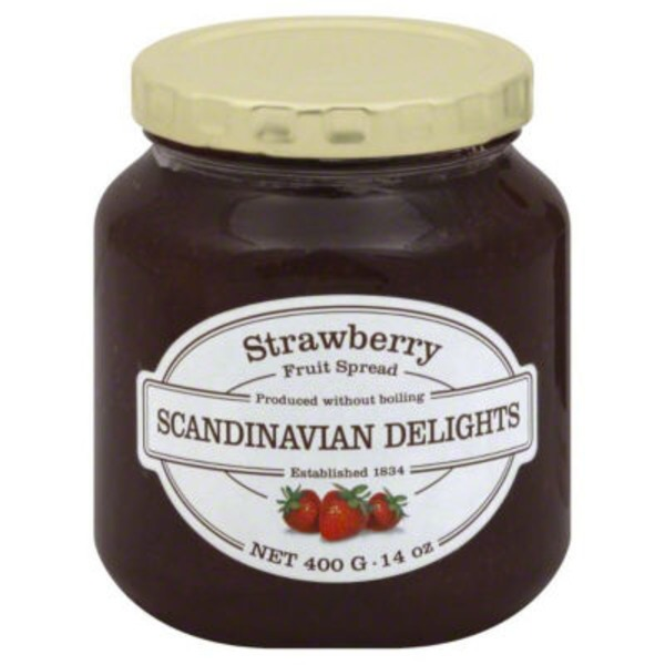 Scandinavian Delights Fruit Spread, Strawberry