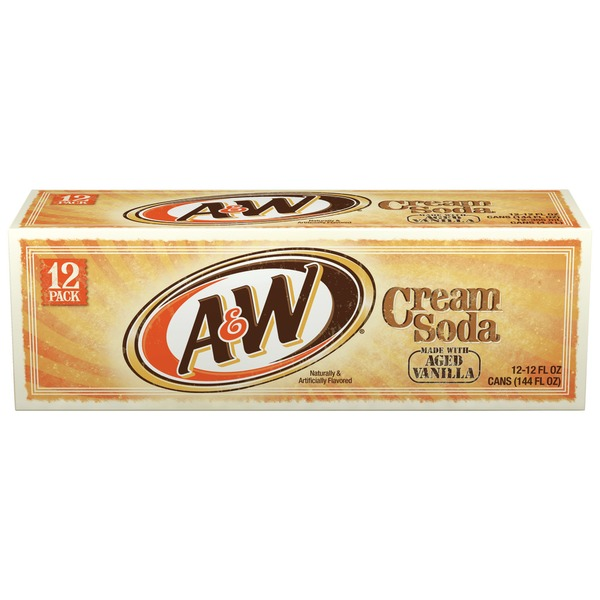 A&W Cool Pack Cream Soda