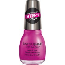 SinfulColors SinfulShine Step 1 Color Nail Color, Royal Flush, 0.5 fl oz