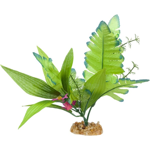 Petco Leafy Green Silk Aquarium Plant
